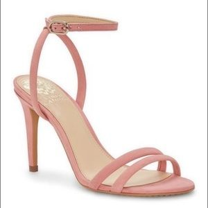 Vince Camuto Dusty Rose Strappy Sandal Heel
